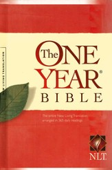 NLT One Year Bible, Hardcover