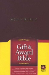 NLTse Gift and Award Bible: Imitation Leather - Burgundy