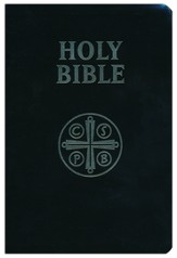 RSV Catholic Edition Bible Ultrasoft Black