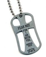 Fear Not Cross Pendant, Genesis 26:24