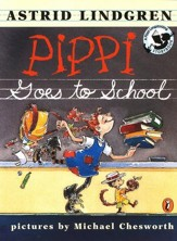 Pippi Goes to School, Softcover