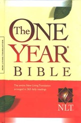 NLT One Year Bible, Compact Hardcover