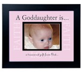 Goddaughter, A Gift from God, Frame