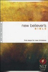 NLT New Believer's Bible - hardcover edition