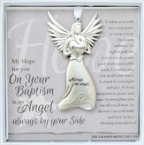 Baptism, Always An Angel Ornament