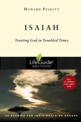Isaiah: Trusting God in Troubled Times, Revised, LifeGuide Scripture Studies