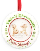 Twin's 1st Christmas Photo Ornament