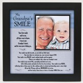 My Grandpa's Smile Photo Frame