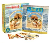 The Story of Noah's Ark: Giant Puzzle and Book -    30 Double-Sided Puzzle Pieces