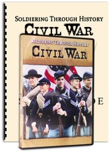 Soldiering Through History: Civil War Kit (DVD &  Study Guide)