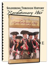 Soldiering Through History: Revolutionary War Kit (DVD & Study Guide)