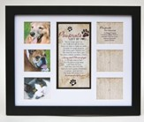 Pawprints Memorial Pet Collage, Photo Frame
