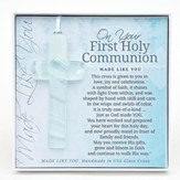 On Your First Holy Communion Cross Ornament