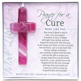 Prayer For A Cure Cross Ornament