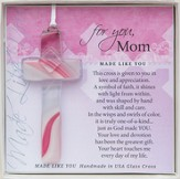 Mom, Hanging Cross, Pink