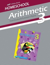 Homeschool Arithmetic 3 Curriculum/Lesson Plans