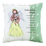 Friendship Angel Pillow, Large