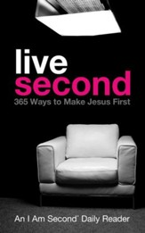 Live Second: 365 Ways to Make Jesus First - eBook
