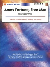 Amos Fortune: Free Man, Novel Units Student Packet, Grades 5-6