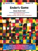 Ender's Game, Novel Units Teacher's Guide, Grades 7-8