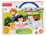 Little People, 3 In 1 Puzzle