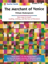 The Merchant of Venice, Novel Units Teacher's Guide, Grades 9-12