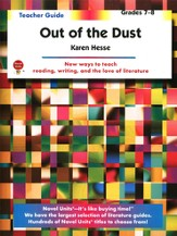 Out of the Dust, Novel Units Teacher's Guide, Grades 7-8