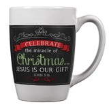 Celebrate the Miracle, Chalkboard Mug