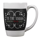 Tis the Season, Chalkboard Mug
