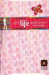 NLT Girls Life Application Bible, Hardcover  - Imperfectly Imprinted Bibles