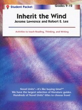Inherit the Wind, Novel Units Student Packet, Grades 9-12