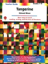 Tangerine, Novel Units Teacher's Guide, Grades 7-8