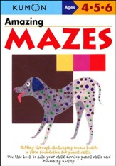 Kumon Amazing Mazes, Ages 4-6