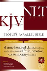 KJV/NLT People's Parallel Bible Hardcover