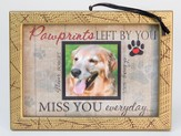 Pawprints Left By You Photo Frame Ornament