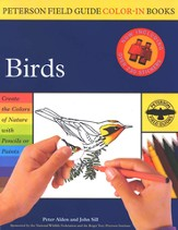 Peterson Field Guide Color-In Books, Birds