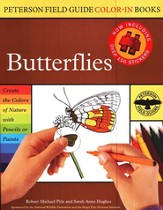 Peterson Field Guide Color-In Books, Butterflies