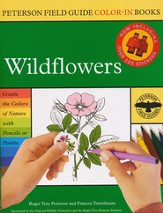 Peterson Field Guide Color-In Books, Wildflowers