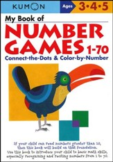 Kumon My Book of Number Games 1-70, Ages 3-5