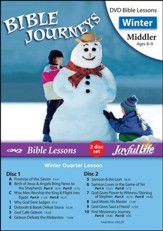 Bible Journeys Middler (Grades 3-4) Bible Lesson DVD