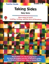 Taking Sides, Novel Units Teacher's Guide, Grades 7-8