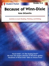Because of Winn-Dixie, Novel Units Student Packet, Grades 5-6