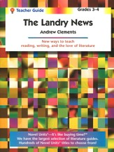 The Landry News Novel Units Teacher's Guide, Grades 3-4