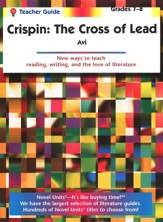 Crispin: The Cross of Lead, Novel Units Teacher's Guide, Gr. 7-8