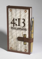 I Can Do All Things Through Christ, Philippians 4:13 Journal