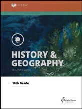 Lifepac History & Geography Teacher's Guide, Grade 10