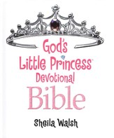 God's Little Princess: ICB Devotional Bible