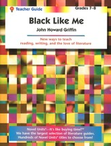 Black Like Me, Novel Units Teacher's Guide, Grades 7-8