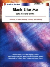 Black Like Me, Novel Units Student Packet, Grades 7-8
