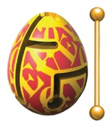 Smart Egg Labyrinth Puzzle, Groovy